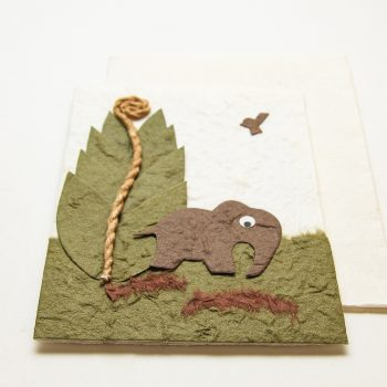 Elephant in park card | Gallery 2 | TradeAid