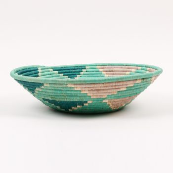 Teal triangle bowl | Gallery 1 | TradeAid