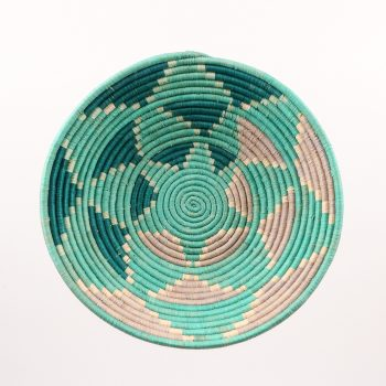 Teal triangle bowl | TradeAid