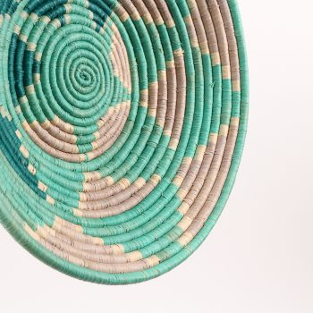 Teal triangle bowl | Gallery 2 | TradeAid