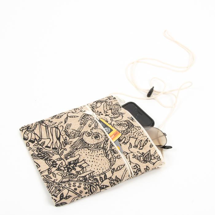 Animal print design shoulder bag | Gallery 2 | TradeAid