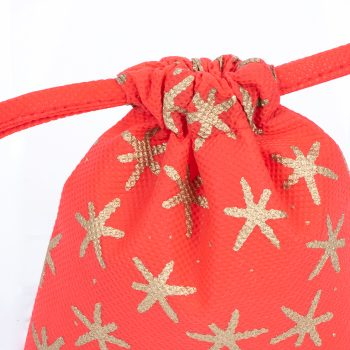 Small red star print gift bag | Gallery 1 | TradeAid