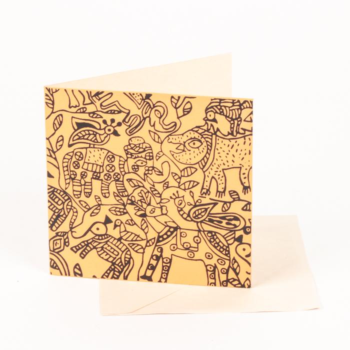 Animal print card | TradeAid