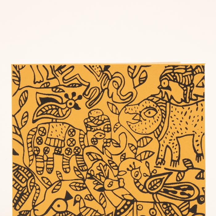Animal print card | Gallery 1 | TradeAid