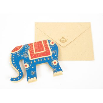 Elephant cut-out card | Gallery 1 | TradeAid
