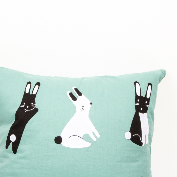 Rabbit cushion cover | Gallery 1 | TradeAid