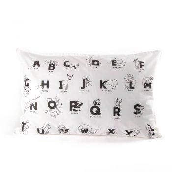 Animal alphabet pillowcase | TradeAid