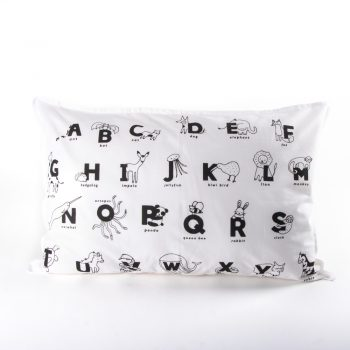Animal alphabet pillowcase   TradeAid