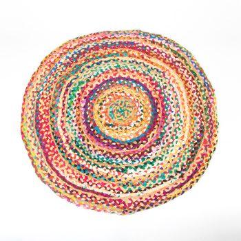 Medium jute and cotton rag rug | TradeAid