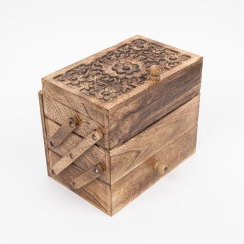 Mangowood three compartment box | TradeAid