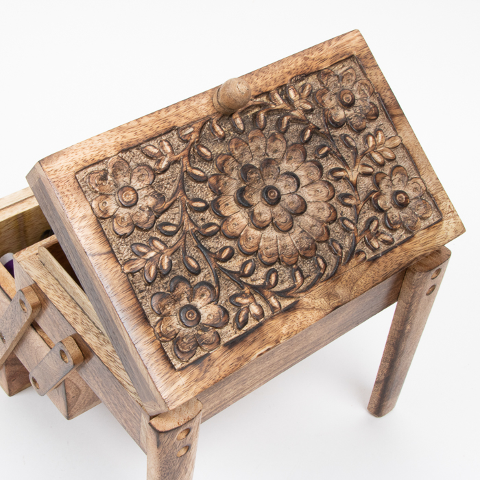 Mango wood concertina box | Gallery 1 | TradeAid