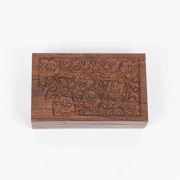 Tree and flower secret lock box | TradeAid