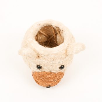 Cocofibre bear planter | Gallery 2 | TradeAid