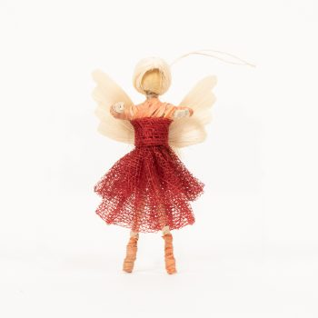 Ballerina angel with pleated skirt | TradeAid