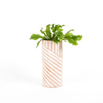 Tall terracotta planter | TradeAid
