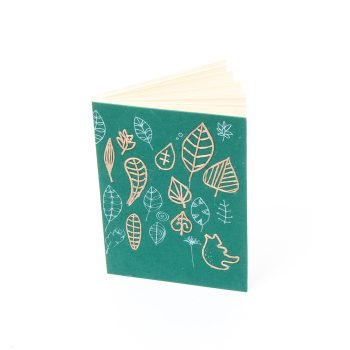 Leaf print notebook | Gallery 1 | TradeAid