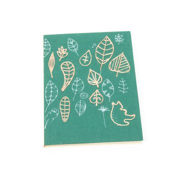 Leaf print notebook | TradeAid