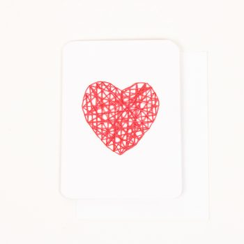 Red heart card | TradeAid