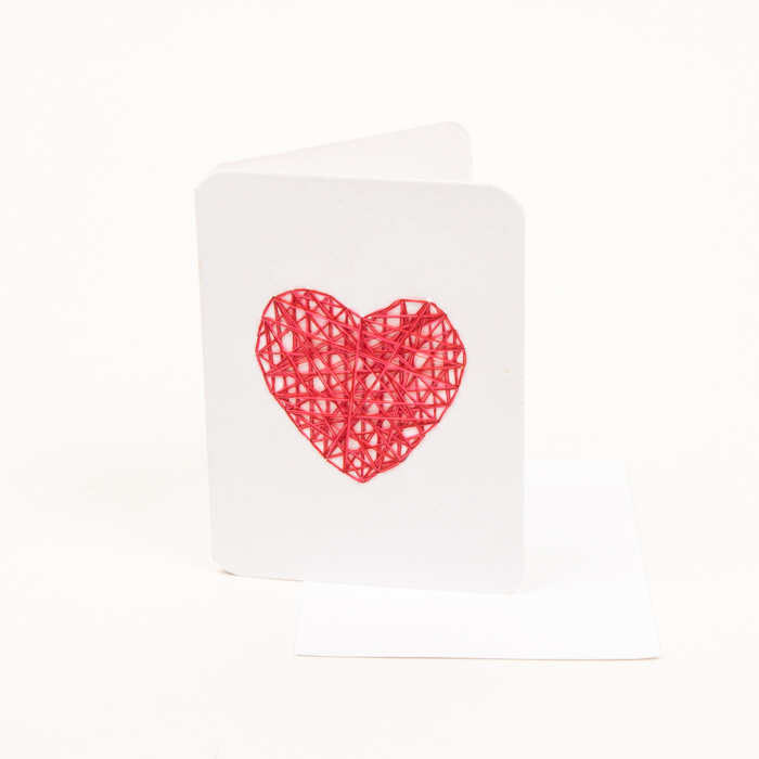 Red heart card | Gallery 1 | TradeAid