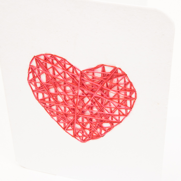 Red heart card | Gallery 2 | TradeAid