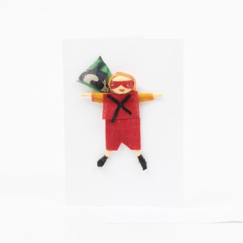 Super hero doll card | TradeAid