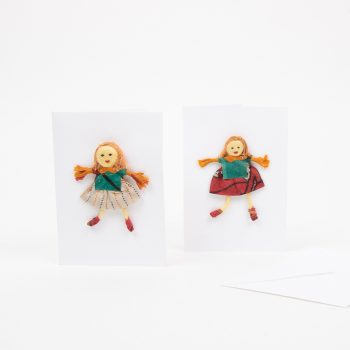 Sari doll card | TradeAid