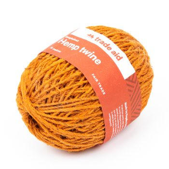 Burnt orange hemp twine | Gallery 1 | TradeAid