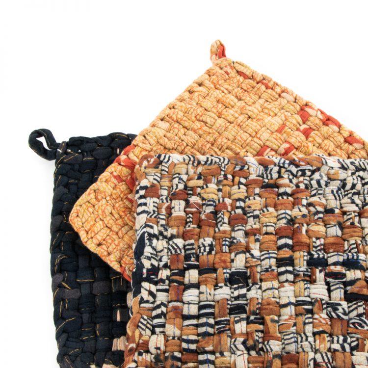 Recycled sari hot mats | Gallery 1 | TradeAid