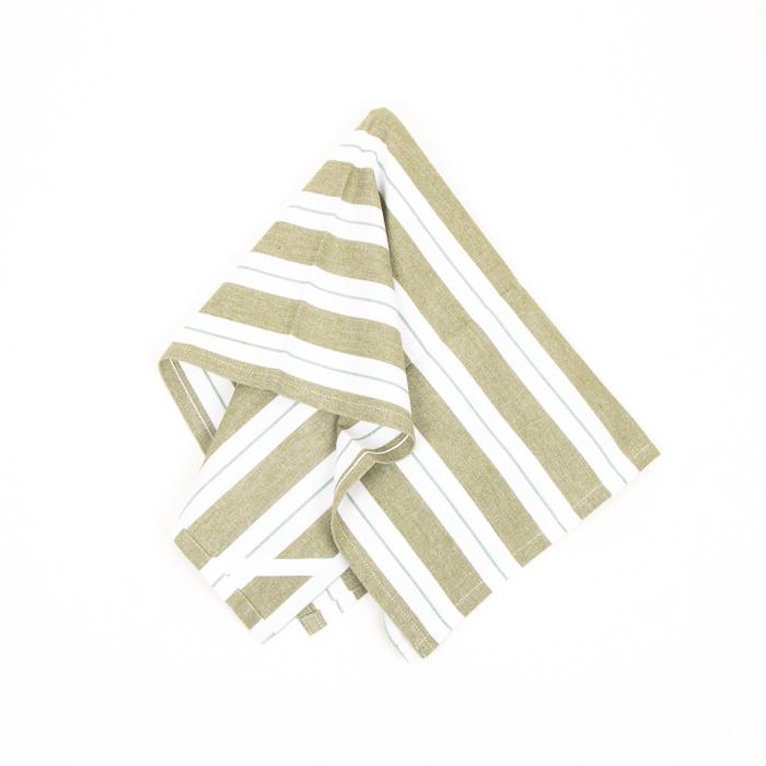 Olive tea towel   TradeAid