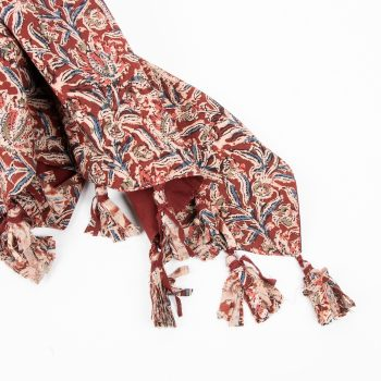 Kalamkari throw | Gallery 1 | TradeAid