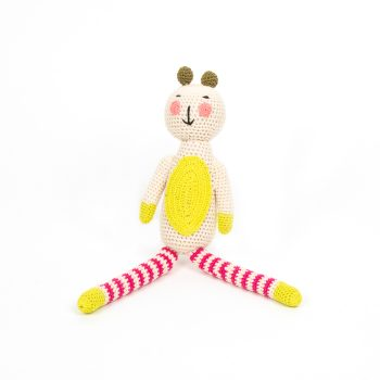 Crochet striped bear | TradeAid