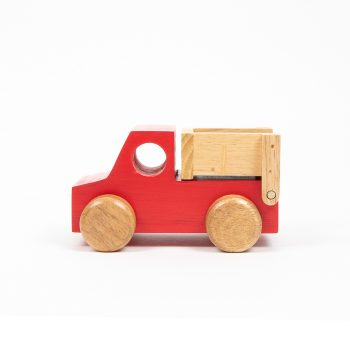 Red dump truck | TradeAid
