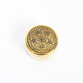 Brass pillbox | TradeAid