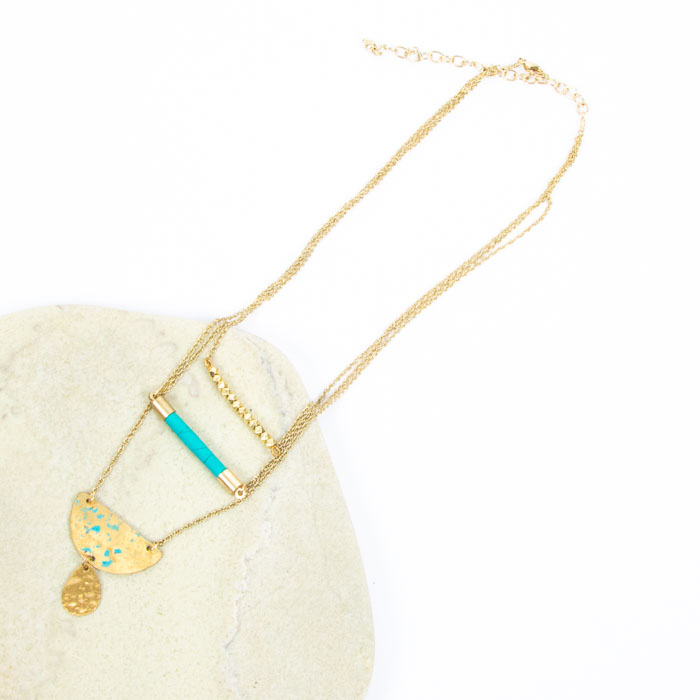 Three chain pendant | TradeAid