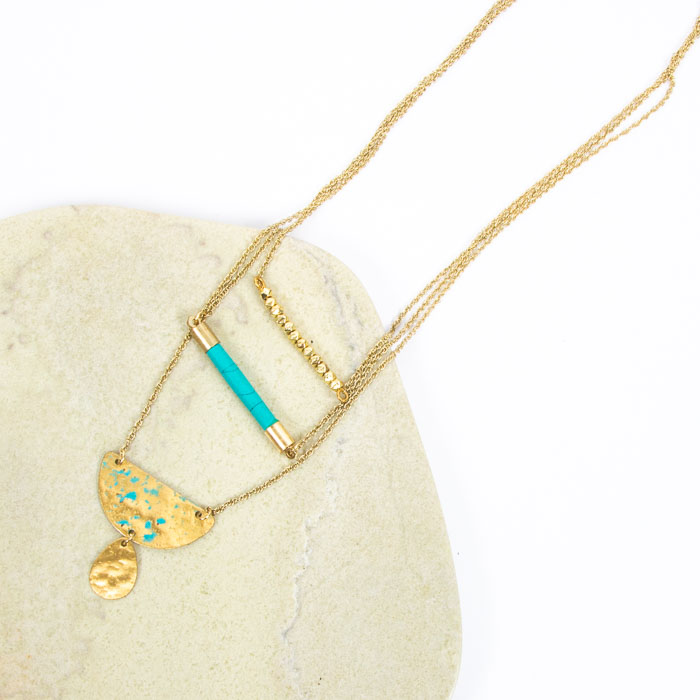 Three chain pendant   Gallery 2   TradeAid