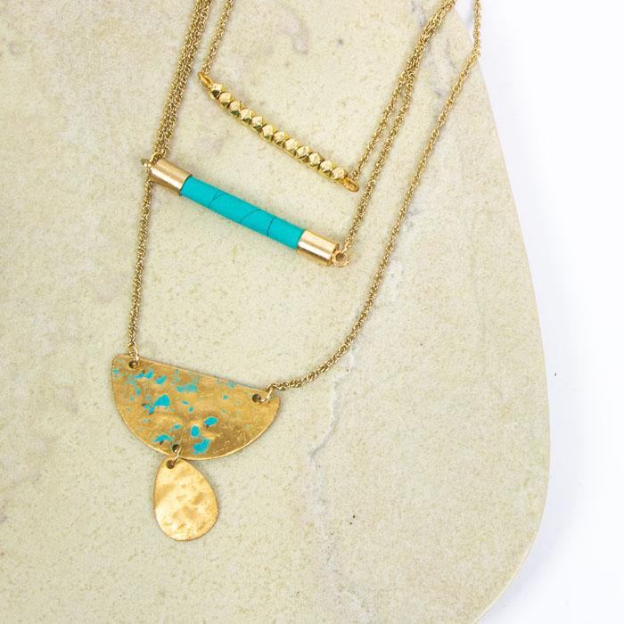 Three chain pendant   Gallery 1   TradeAid