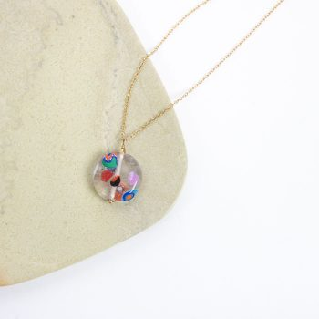 Glass bead pendant | TradeAid