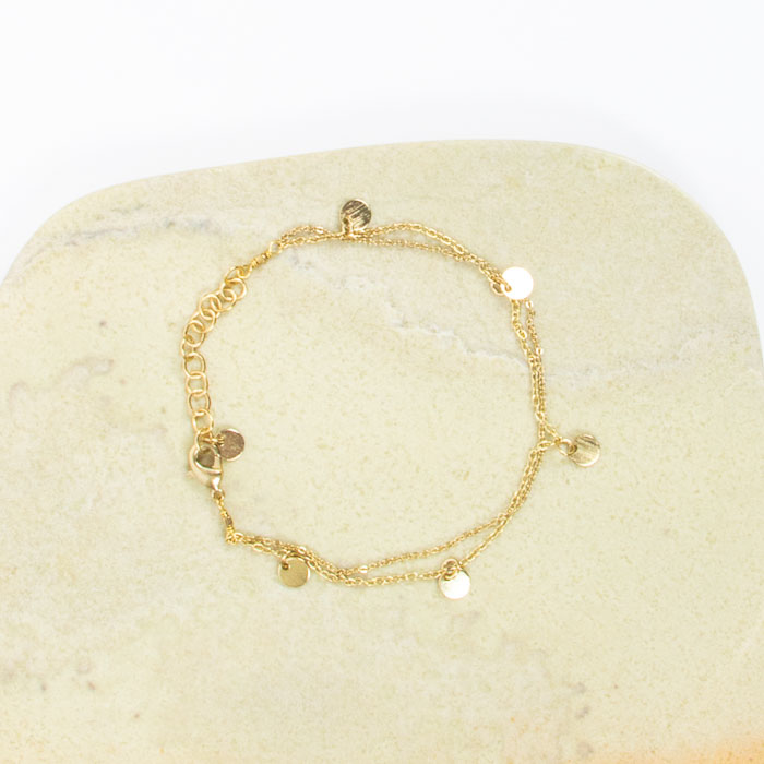 Two string chain bracelet | Gallery 1 | TradeAid