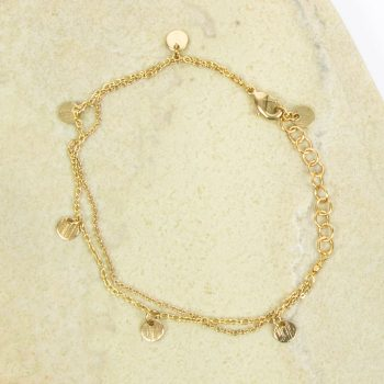 Two string chain bracelet | TradeAid