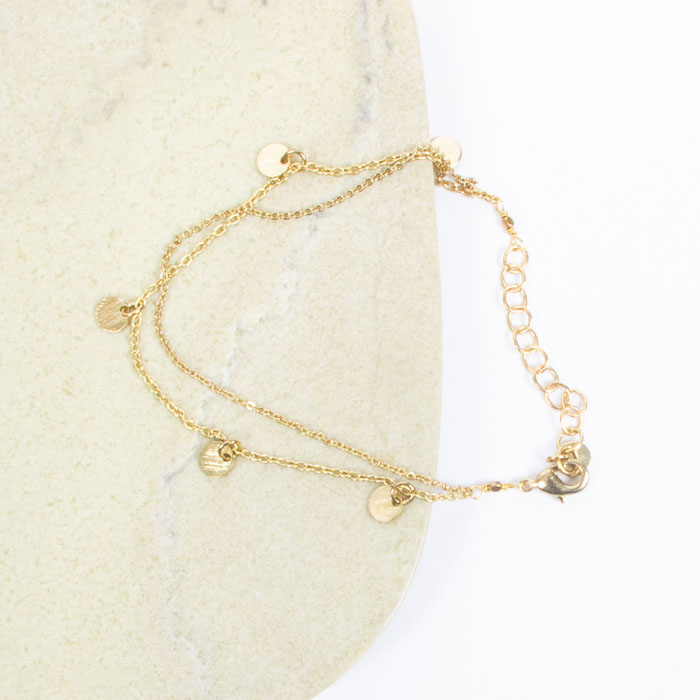 Two string chain bracelet | Gallery 2 | TradeAid