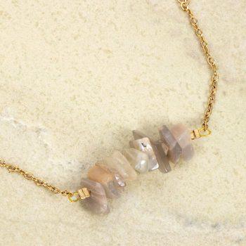 Uncut stone bead bracelet | Gallery 1 | TradeAid