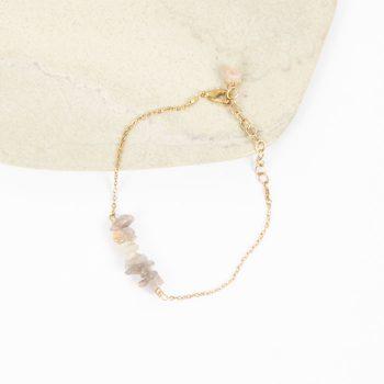 Uncut stone bead bracelet | Gallery 2 | TradeAid