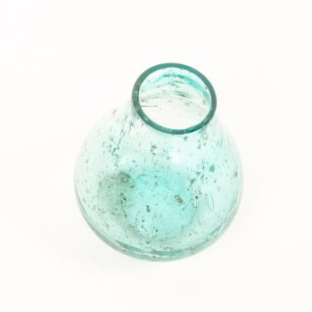 Turquoise glass vase | Gallery 2 | TradeAid