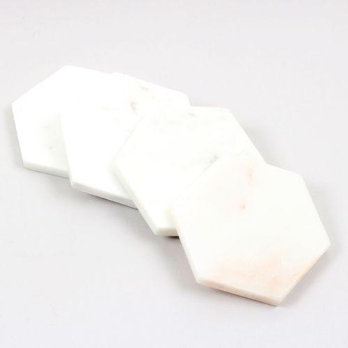 White stone coaster set | Gallery 1 | TradeAid