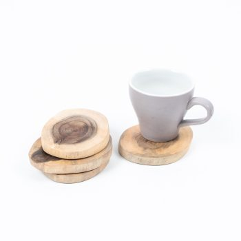 Set of wooden coasters | Gallery 2 | TradeAid