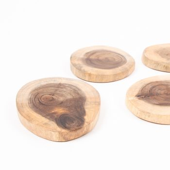 Set of wooden coasters | Gallery 1 | TradeAid