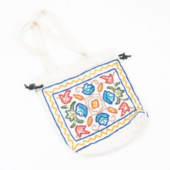 Small embroidered drawstring bag | TradeAid