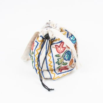 Small embroidered drawstring bag | Gallery 2 | TradeAid