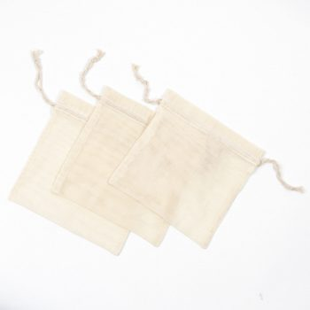 Set of three small cotton produce bags | TradeAid