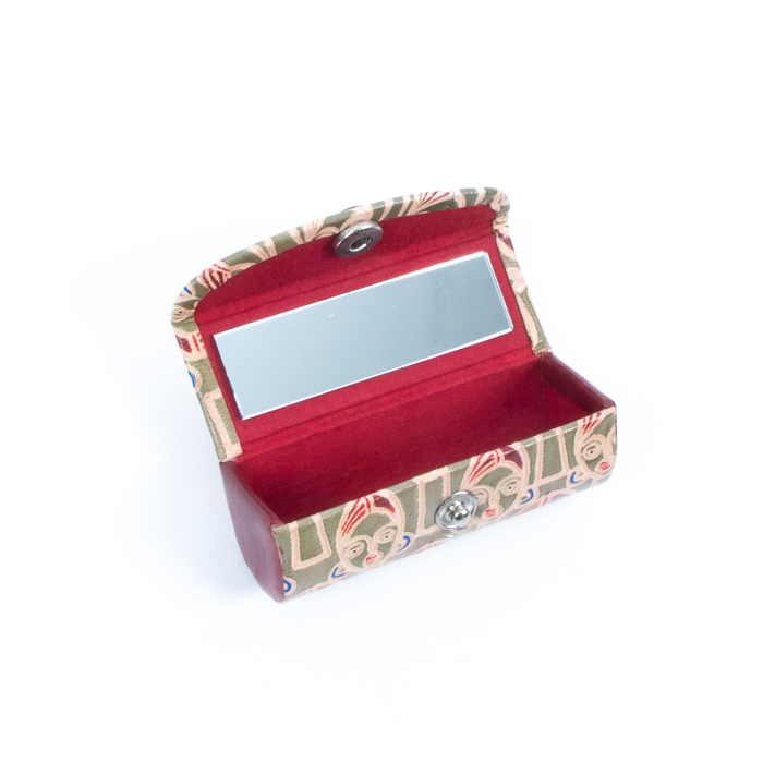 Face design leather lipstick case | Gallery 1 | TradeAid